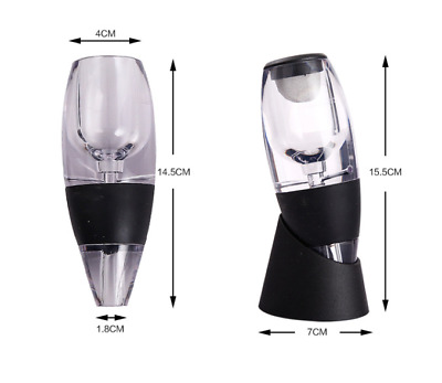 Magic Decanter Essential Red Wine Aerator Sediment Filter Pouch Travel Gift Box