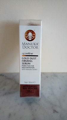Brand New MANUKA DOCTOR GOLD DUST FIRMING SERUM WITH MANUKA HONEY