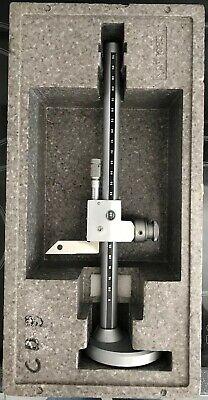"""0-11.5"""" Microball height gauge made by APE With built in micrometer"""