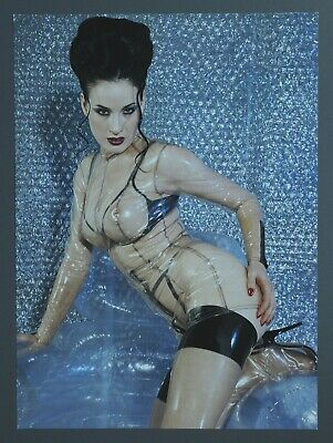 Dita von Teese Photo Kunstdruck Poster Art Print 27x37 Marquis 2000 Fetish Latex