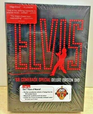 Elvis '68 Comeback Special Deluxe Dvd New & Sealed * Rare