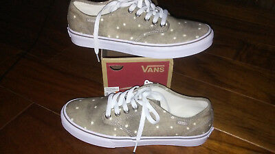 76796432d09047 VANS WOMENS LOW Lace Up Skater Shoes Cloud Wash Bright Pink or Cream ...