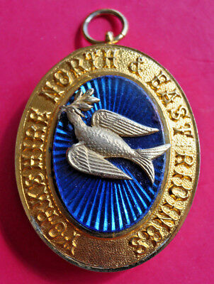 Yorkshire North & East Ridings Past Provincial Grand Deacon masonic collar jewel