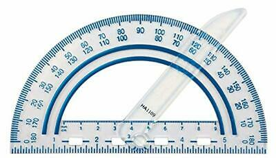 Fiskars 12-95400J Plastic Swing Arm Protractor, Color Received May Vary