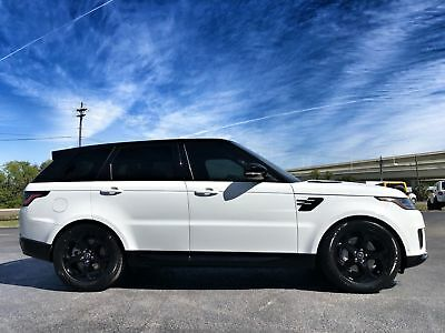 "2018 Land Rover Range Rover Sport SPORT HSE PANO 20""s 1 OWNER CARFAX 3000 MILES! RANGE ROVER SPORT HSE*3000 MILES!*BLACK ROOF/20"" WHEELS*PANO*1 OWNER*CARFAX CERT"
