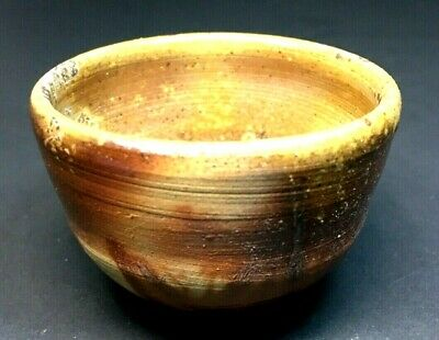 Japanese Bizen pottery Tea Sake Artist Singed