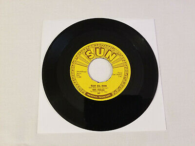 Carl Perkins – Glad All Over / Lend Me Your 1957 45 RPM  Sun 287 rockabilly VG+