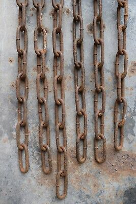 Reclaimed Vintage Industrial Lighting Chain old original lamp light factory hook