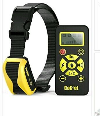 Collar Colpet Dog Training Rechargeable Waterproof Remote Controlled Black/Blue