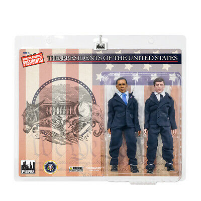 US Presidents 8 Inch Action Figures Series: Obama & John F. Kennedy Two-Pack