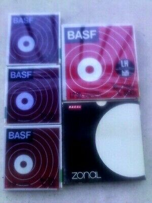 BASF LP35 reel to langspiellband  bundle x5 tapes basf  and zonal shrink wrapped