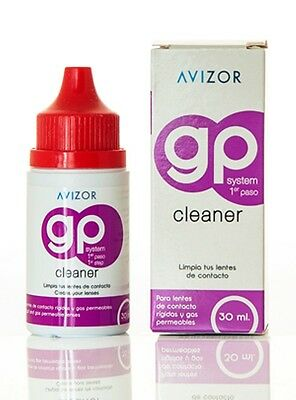 30ml Avizor GP Cleaner for Hard & Rigid Gas Permeable RGP Contact Lenses