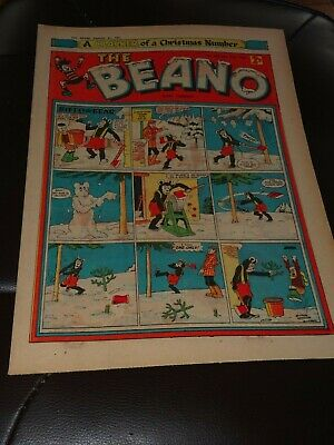 Beano Comic Dec 21st 1957 Christmas Edition