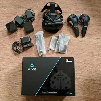 HTC Vive VR Virtual Reality, barely used system with original packaging