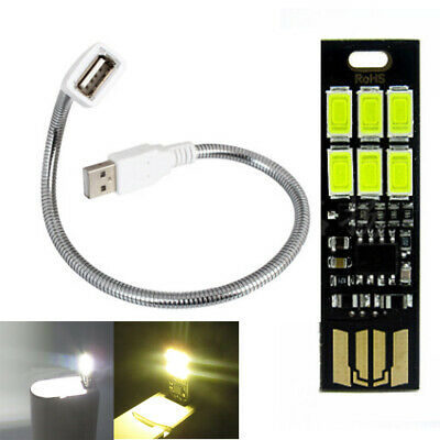Touch control USB LED light Bendable camping reading Lamp 1w 5000K 3200k