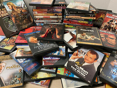 72 Lot DVDs Movies Action Romance Comedy Suspense and More!