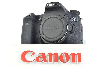 Canon EOS 70D 20.2MP Digital SLR Camera (Body Only) Shutter Count: 29,183 #P2478