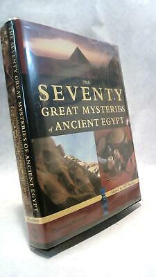 Bill MANLEY / THE SEVENTY GREAT MYSTERIES OF ANCIENT EGYPT First Edition 2003