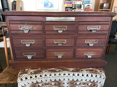 Rare Shannon Filing Cabinet- Made in Toronto Canada-Reduced price