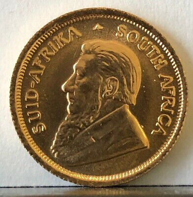 1980 As Shown South Africa Gold 1/10 Oz Krugerrand-Great Bullion Coin For Price