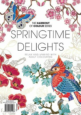 Harmony of Colour Book Issue 49 Adult Colouring - Free Postage