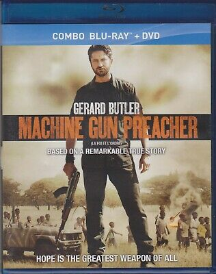 Machine Gun Preacher (Blu-ray/DVD, 2012, Canadian)