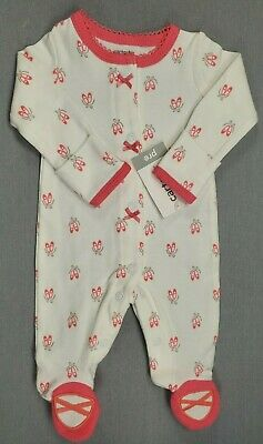 b7b7967ee New Carter's Preemie Baby Girl Pink Ballet Slippers Footed Sleeper Outfit