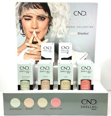 CND Shellac Gel Polish .25oz- YES I DO BRIDAL Collection - Pick Any Color