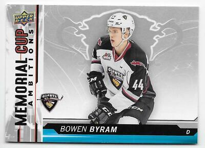 18/19 UPPER DECK CHL MEMORIAL CUP AMBITIONS Hockey (#CA1-CA20) U-Pick From List