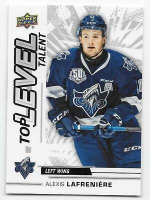 18/19 UPPER DECK CHL TOP LEVEL TALENT Hockey (#TL1-TL20) U-Pick From List