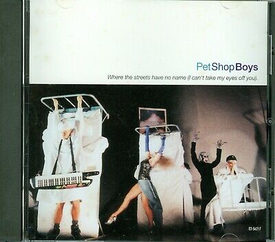 Pet Shop Boys Where The Streets CD USA, IT'S A SIN LIVE COVER!!!