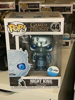 Funko Pop Game of Thrones Night King #44 Metallic - AT&T Exclusive - In Hand