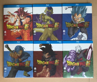 Dragon Ball Super: Blu-ray Complete Series Part 1-6 1,2,3,4,5,6 New and Sealed