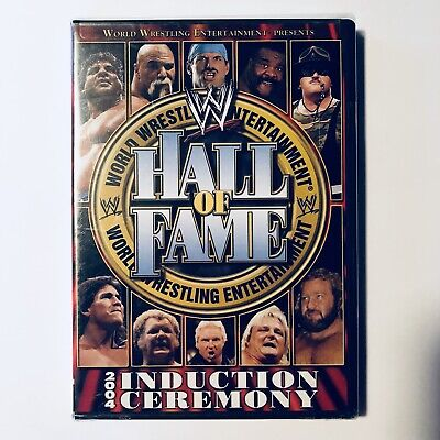"""2004 WWE """"Hall of Fame Induction Ceremony""""  DVD"""