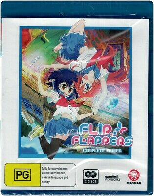 """FLIP FLAPPERS: The Complete Series"" Blu-ray, 2 Disc Set - Region [B] BRAND NEW"