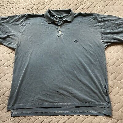 Vintage 80s 90s OP Ocean Pacific Short Sleeve Polo Shirt Mens Size L Large