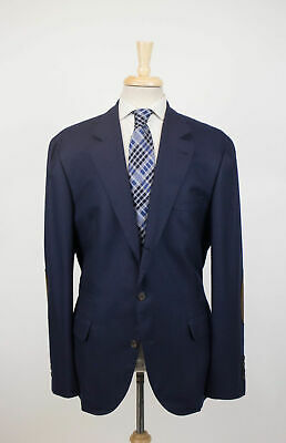 New BRUNELLO CUCINELLI Blue Cashmere 3/2 Button Sport Coat Size 58/48 R $4850