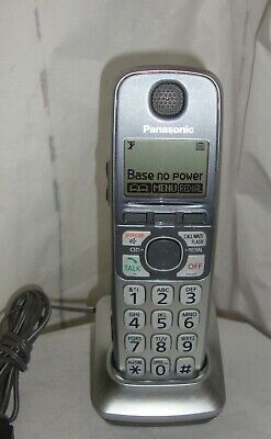 Panasonic Kx-Tga470S Expansion Handsets + Charger +Ac Adapter + Battery Working