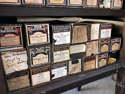 pianola rolls Bulk Lot (over 80 rolls)