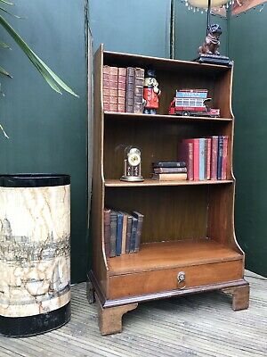Antique bookcase mahogany
