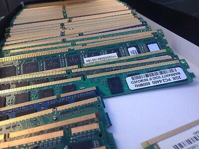 37 sticks gold recovery scrap RAM  1.04 kg