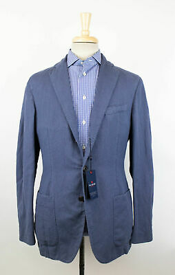 New PAL ZILERI CONCEPT Cotton 3/2 Button Unstructured Sport Coat 50/40 R $950