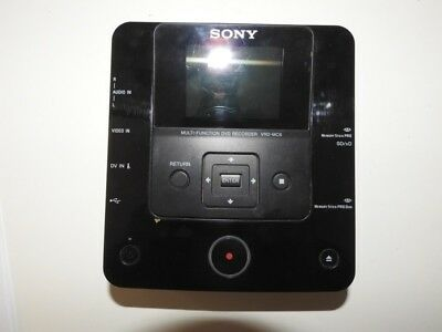 Sony Multifunction DVD Recorder VRD-MC6, with manual, hardly used, works well.