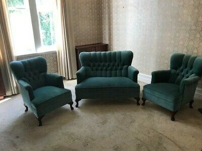 Vintage Queen Anne Lounge Suite. Pick-up from Geelong