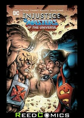 INJUSTICE VS MASTERS OF THE UNIVERSE HARDCOVER Hardback Collects 6 Part Series