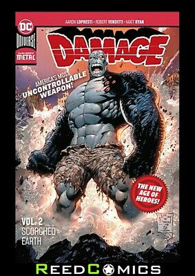 DAMAGE VOLUME 2 SCORCHED EARTH GRAPHIC NOVEL New Paperback Collects #7-12