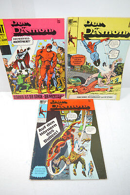 The Demon Dare Devil - Booklet 2, 3, 4 Comic Hit Comics Dc (Mf4)