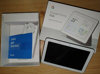 Google Home Hub Charcoal - Used EXCELLENT condition w/ ORIGINAL RETAIL BOX