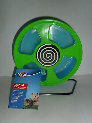 BNWT Trixie Blue & Green Small Rodent Exercise Wheel.