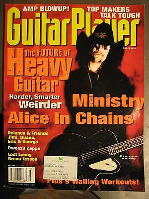 Guitar Player 1996 Mar - 3/96 - Ministry Alice In Chains Dweezil Zappa